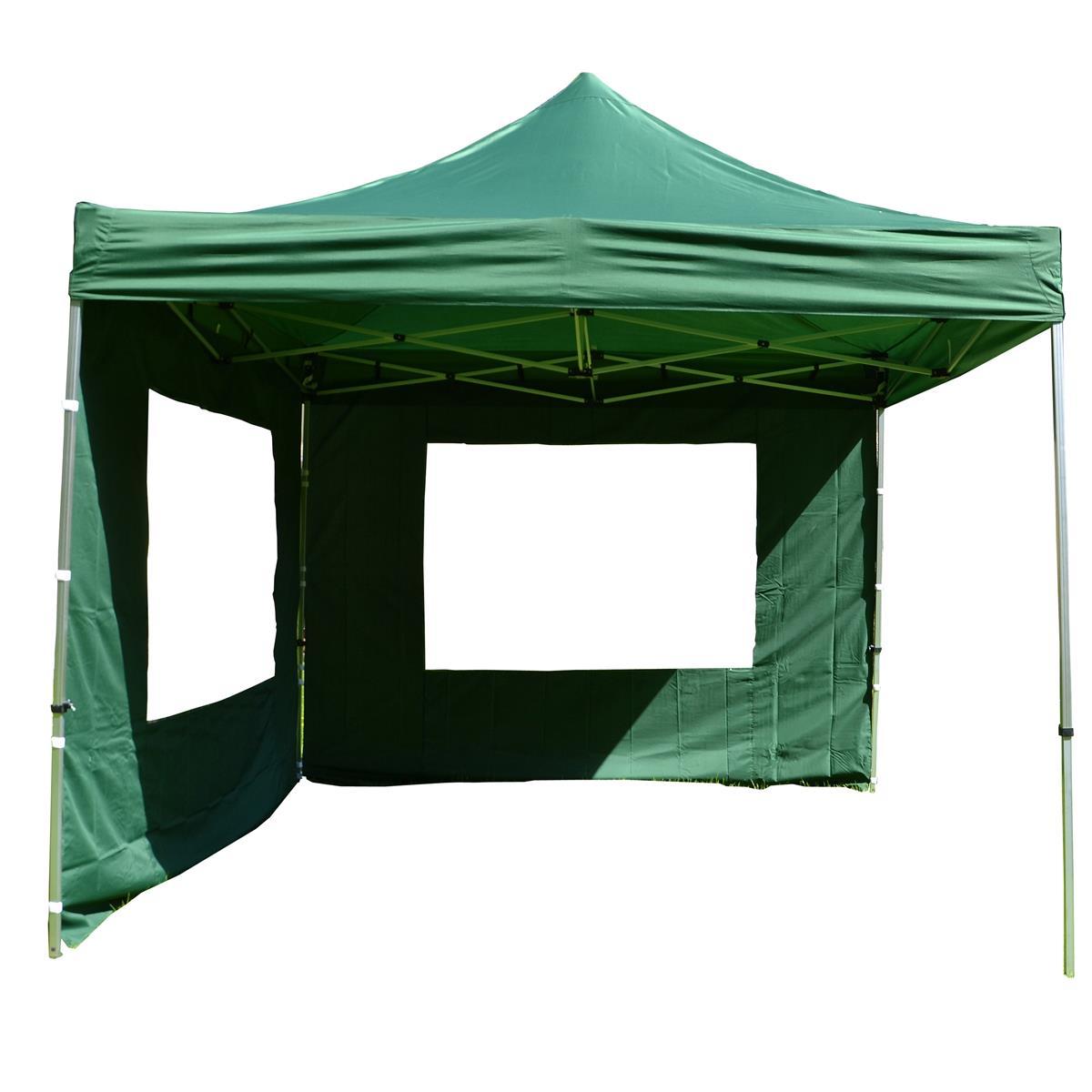 Zelený párty stan