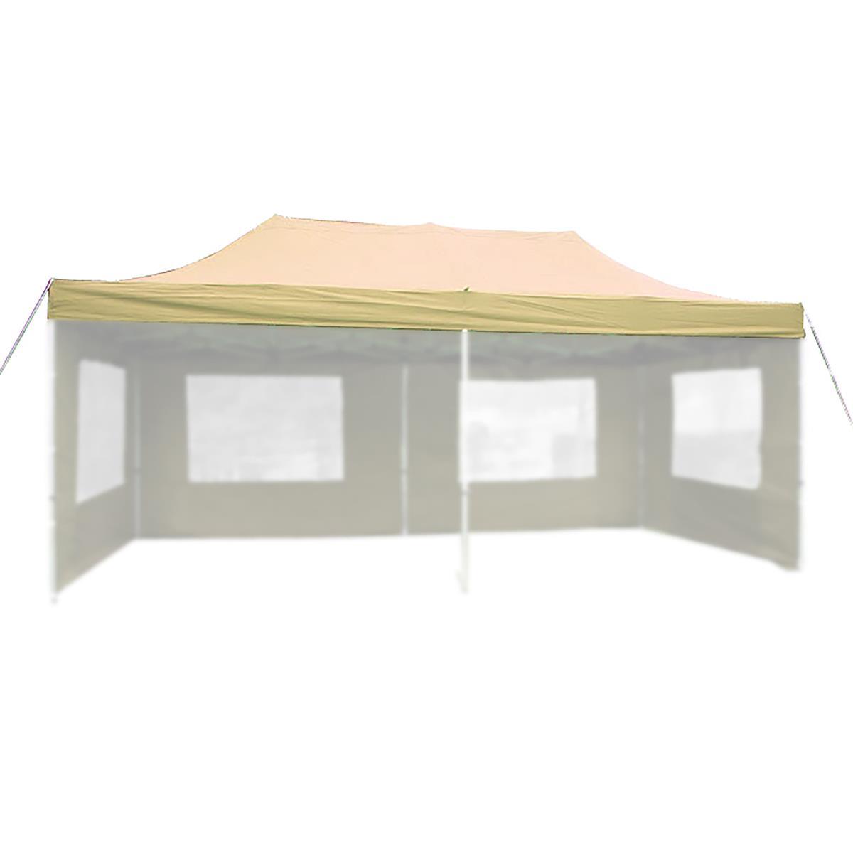 Béžová střecha pro párty stan 3x6 m