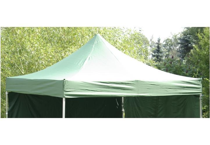 zelená střecha na párty stan 3x3