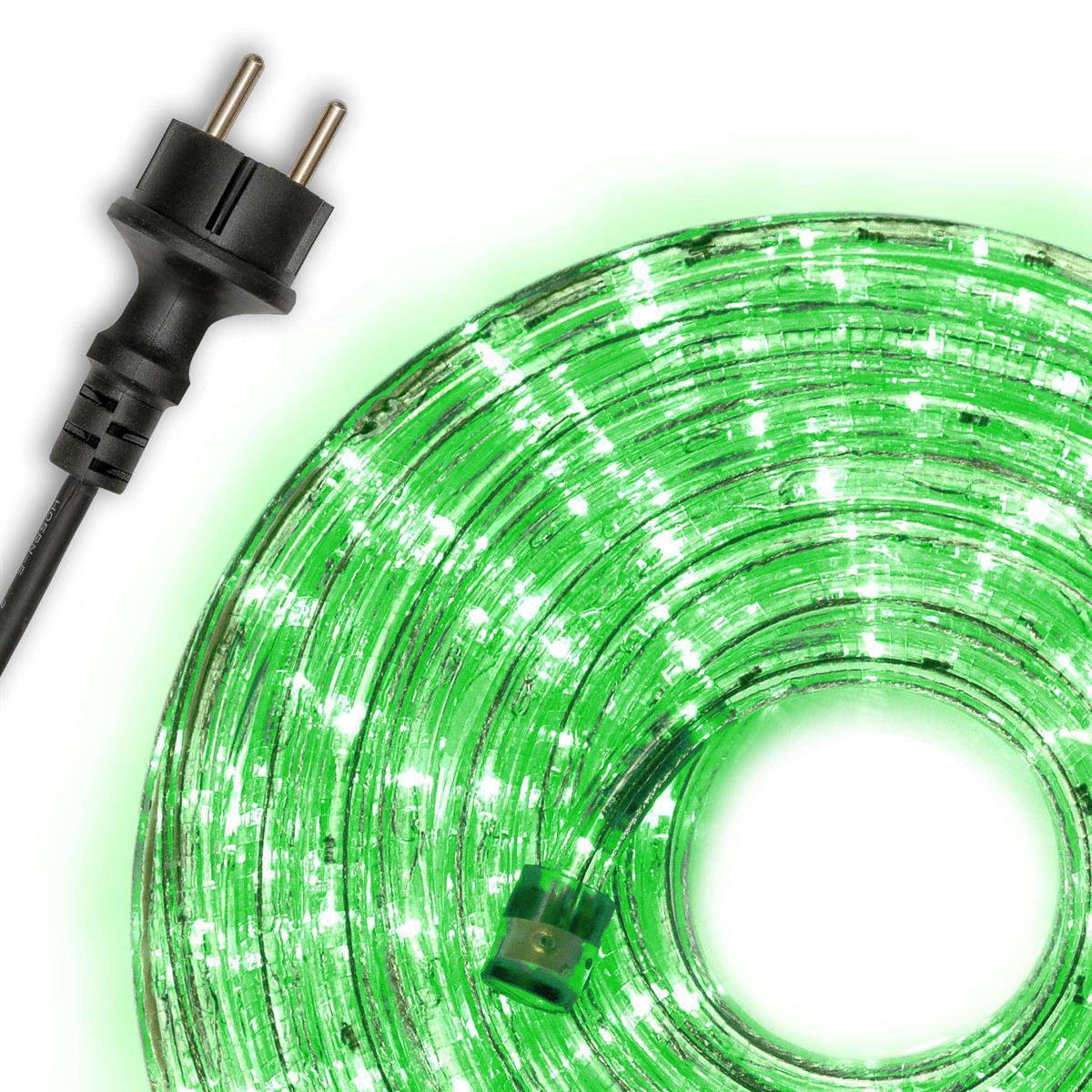 Led kabel zelený